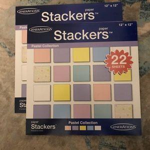 3/$15! Scrapbook Paper Lot